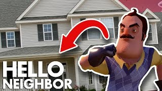 Minecraft Hello Neighbor - The Neighbors Has A Secret House? (Minecraft Roleplay)