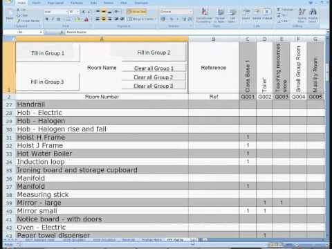 Room Data Sheets Compiler Overview Youtube