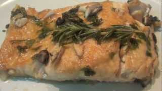 Salmon with white wine Recipe - how to cook salmon