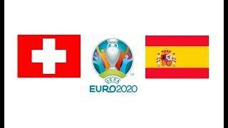 Швейцария Испания 1 1 обзор матча серия пенальти футбол ЕВРО 02 07 2021 смотреть прогноз матча