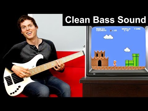 Super Mario Bass Guitar 2!!!!! (Clean Bass Sound)