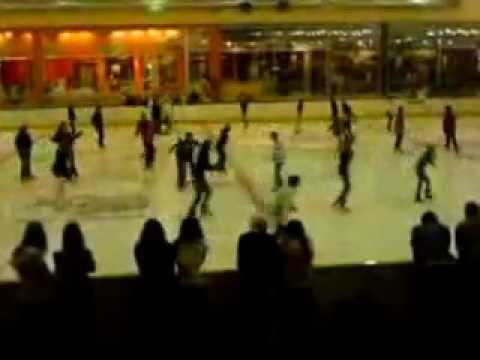Ice skating in South Africa