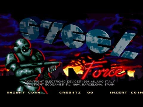 Steel Force 1994 Electronics Devices/Ecogames Mame Retro Arcade Games