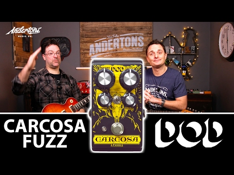 Dod Carcosa - Killer Fuzz Tones From A Sensibly Priced Guitar Pedal!
