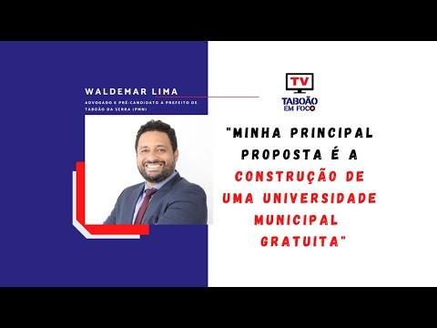 Waldemar Lima, pré-candidato a prefeito de Taboão da Serra