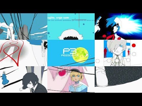 Persona 3 (Opening Remastered via AI Machine Learning at 4K