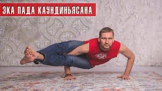 Как освоить? Эка пада каундиниасана (Денис Малинов asanaonline.ru)