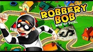 ВОРИШКА БОБ Побег из тюрьмы #4 Мультик игра для детей Robbery Bob мультяшная видео игра