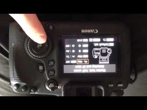 Setting Back Button Focus On Canon 6D