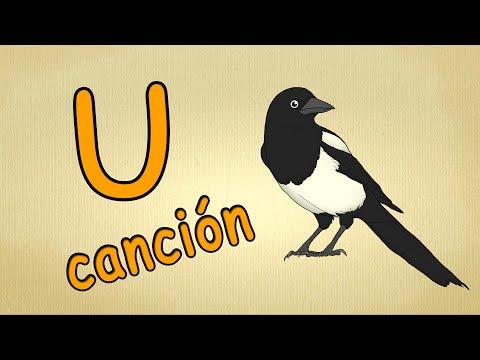ABC español cancion | La letra U Cancion | canciones infantiles