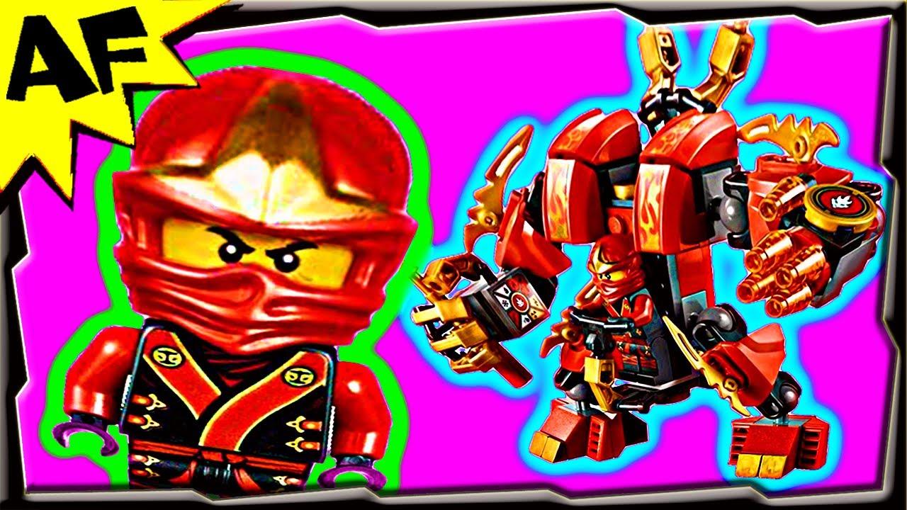 Kai S Fire Mech 70500 Lego Ninjago Stop Motion Set Review
