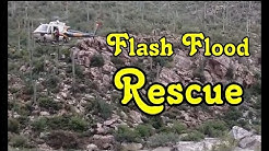 Monsoon Rescue at Tanque Verde Falls