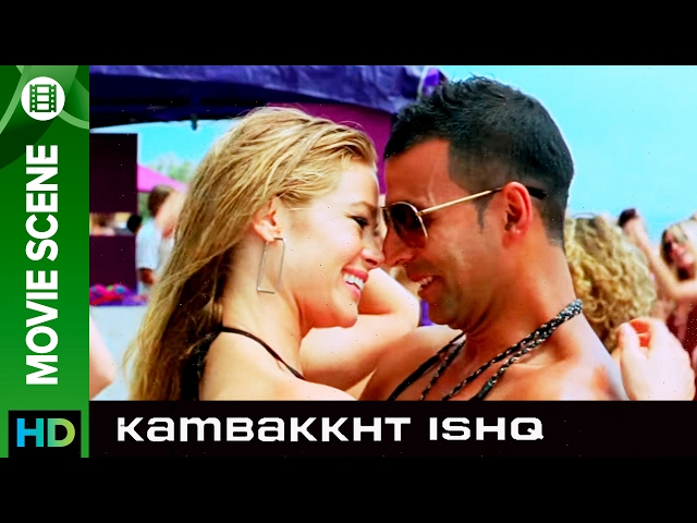 Akshay Kumar likes Indian Girls | Kambakkht Ishq | Movie Scene