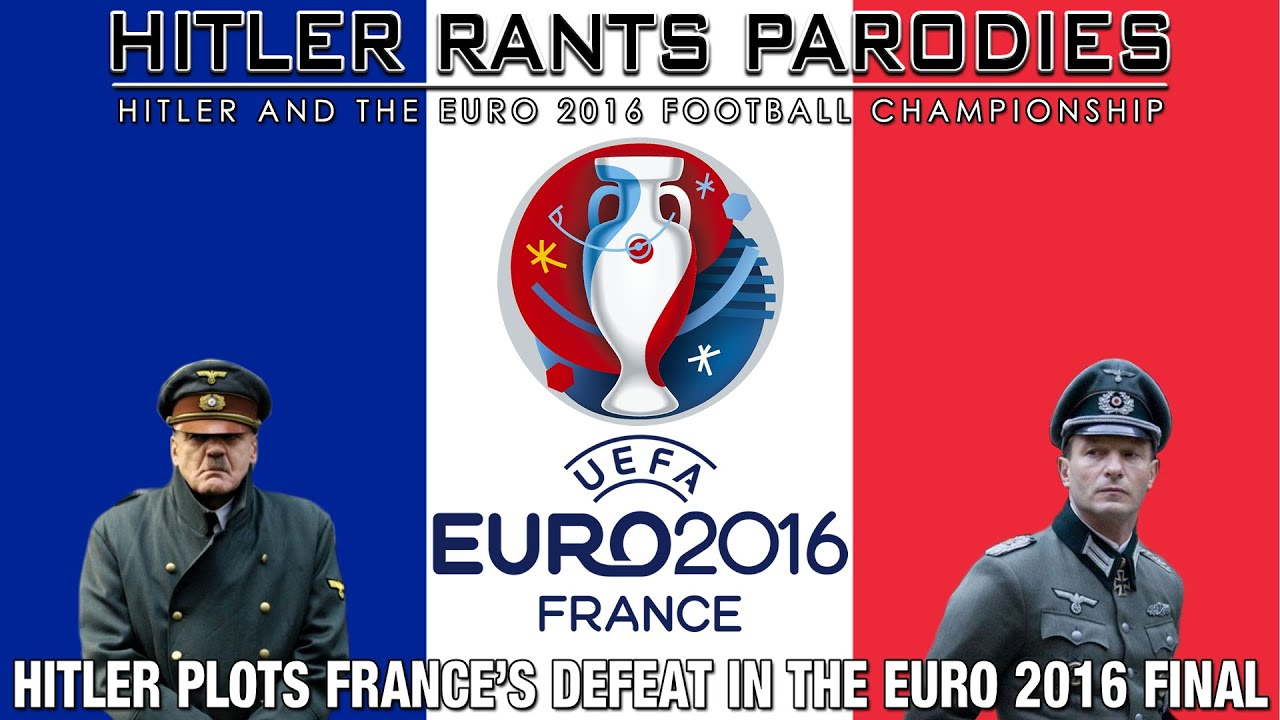 Hitler plots France's defeat in the Euro 2016 Final
