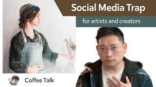 Social media trap for artists