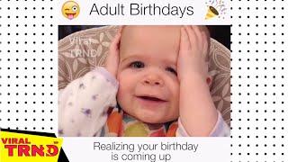 Funny Kids  Birthday CELEBRATION Compilation 2018 -  Viral TRND