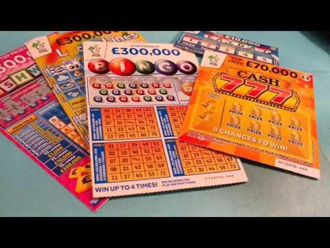 Scratchcard Sunday Game...CASH 777..LUCKY LINES..20x CASH...BINGO...CASH WORD..Etc
