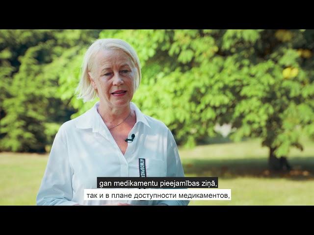 Dr. Kozlovska par patentbrīvajiem medikamentiem