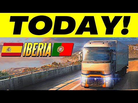 Iberia Releases Today + Giveaway | #CruisingIberia WoT Event | The Release Day of Iberia for ETS2