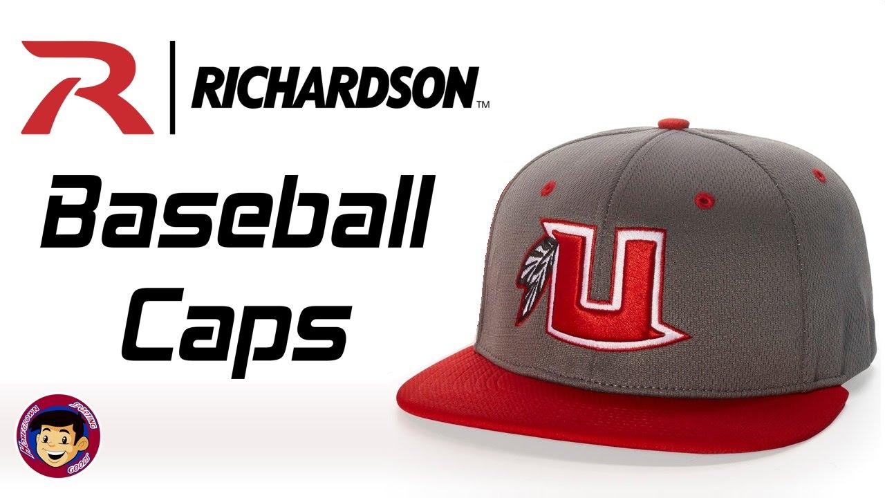 Richardson Baseball Hats - Stock   Custom Baseball Caps - YouTube f48961c3423