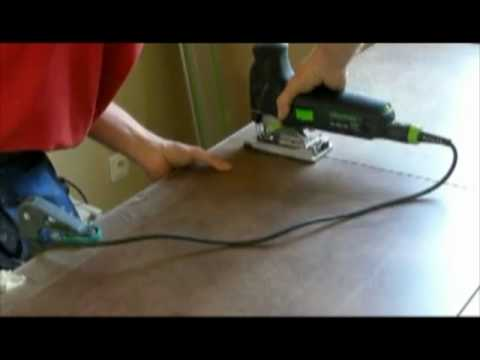worktop cut - youtube - Decoupe Plan De Travail Scie Sauteuse