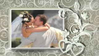 Свадебный альбом Счастливые мгновенья (слайд-шоу на заказ)