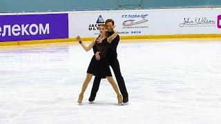 Произвольный танец Танцы на льду Кубок России по фигурному катанию 2020 21 Четвертый этап