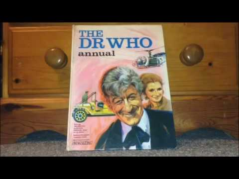 Doctor Who Unboxing #17- THE 1971 ANNUAL