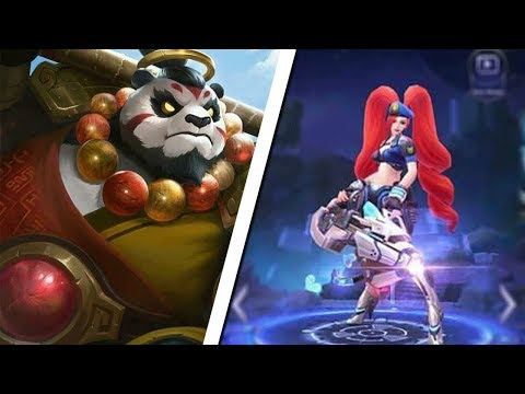 NEW Upcoming EPIC Layla,Fanny & Akai Skins! Mobile Legends