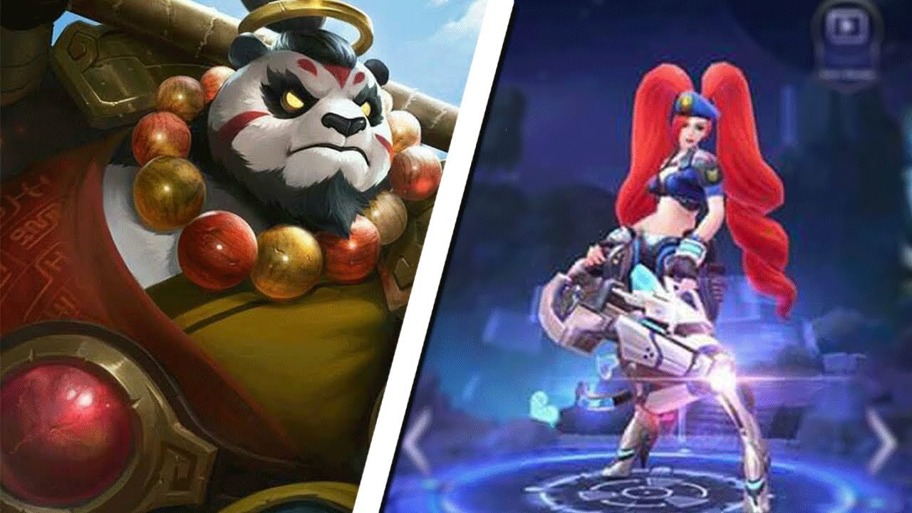 NEW Up Ing EPIC Layla Fanny & Akai Skins Mobile Legends