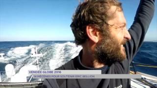 Vendée Globe 2016 : 14 mécènes pour soutenir Eric Bellion