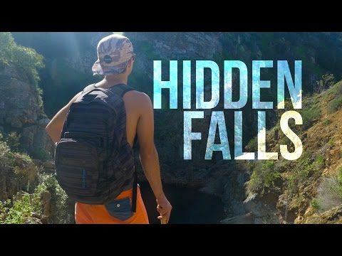 Hidden Falls Cliff Jumping + Surfing | San Diego, CA | Land or Water