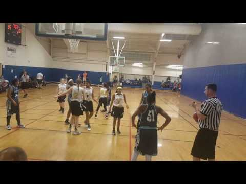 Gym Rat BROOKLYN S.T.A.R.S 8th vs Bay State Jaguars 1st half