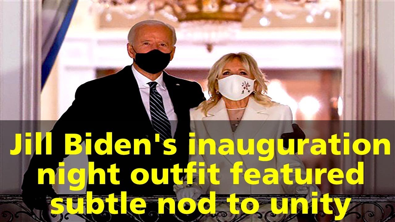 Jill Biden's inauguration 'gown' inspired by unity, designer says ...