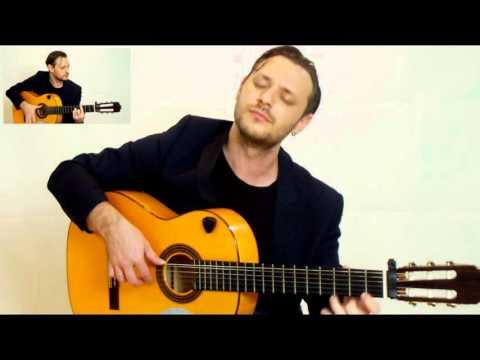 Entre dos aguas by Paco de Lucía (rumba flamenco instrumental guitar cover) Scores inside