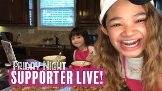 Supporter Live (Apr 10, 2020)  Baking Muffins with Abby!