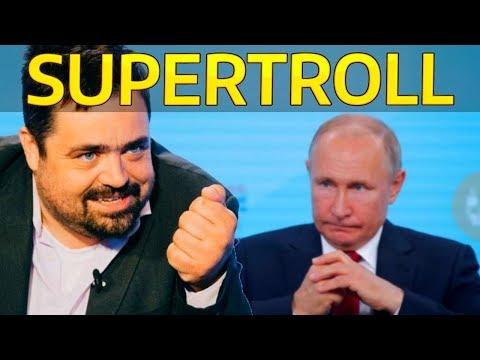 ŘEPORYJE Vs RUSKO A ROSSIJA 1 - Troll Novotný A Pomník Pro Vlasovce (ROA) [komentář]