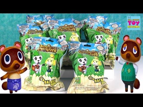 Animal Crossing Nintendo Backpack Buddies Blind Bag Opening | PSToyReviews
