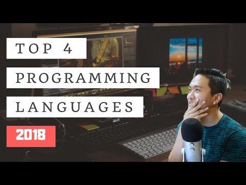 Top 4 Programming Languages to Learn in 2018 (GUARANTEED JOB!)