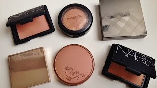 Top 5 Neutral/Natural Looking Blushes - Tarte, Nars, MAC, Burberry, Josie Maran!! Thumbnail