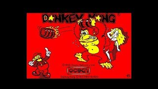 Donkey Kong Review for the Amstrad CPC by John Gage