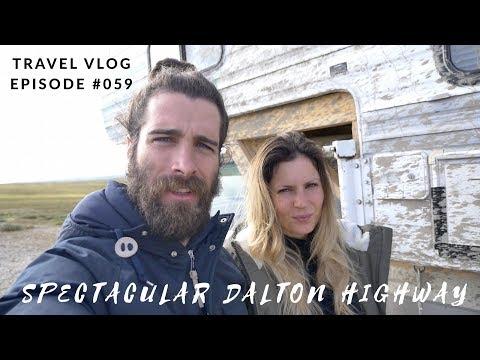 EXPLORING ALASKA'S REMOTE DALTON HIGHWAY -  WILDLIFE AND SPECTACULAR SCENERY - LeAw Vlog #059