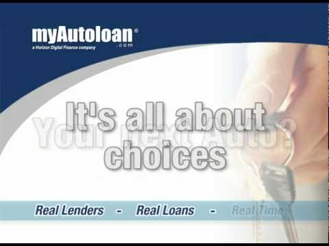 Auto Finance and Auto Refinance by myAutoloan.com
