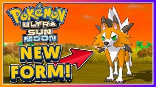 Pokémon Ultra Sun & Ultra Moon - BRAND NEW LYCANROC DUSK FORM!