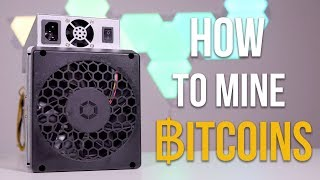 How to mine Bitcoins 2018 - Avalonminer 821 Tutorial & Setup Guide
