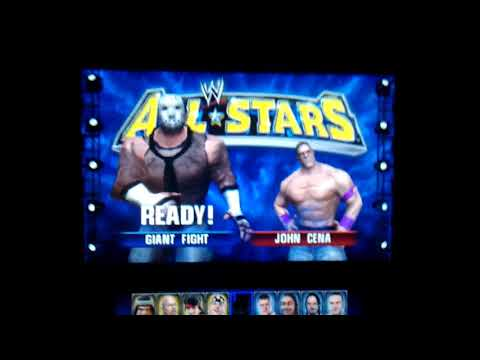 My created superstars in wwe all Stars on Nintendo 2ds