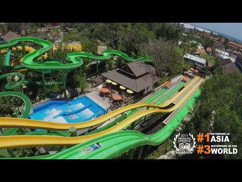 Best way to beat the heat in Bali. Waterbom Bali new official video. Be happy!