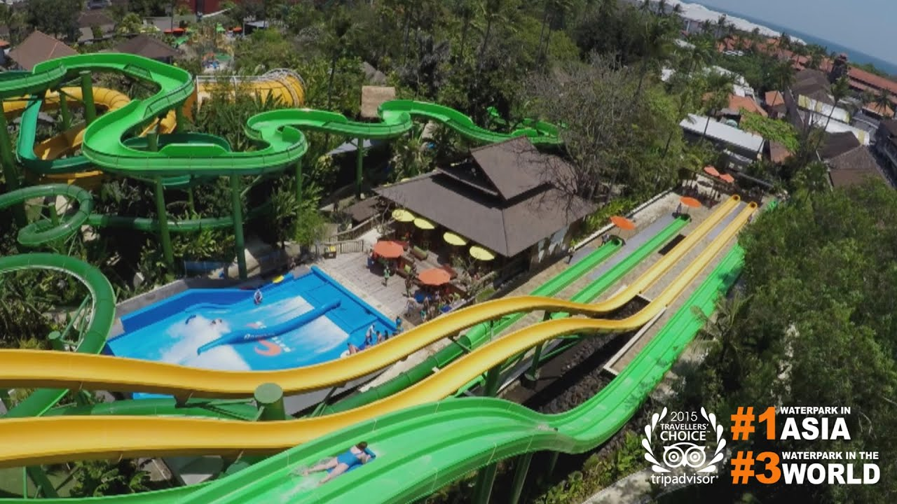 Best way to beat the heat in Bali. Waterbom Bali new official ...