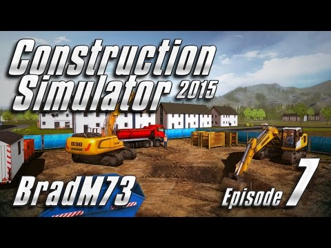 Construction Simulator 2015 - Episode 7 - First city job and new equipment!