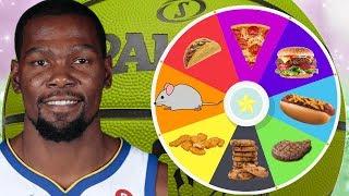 NBA PLAYERS FAVORITE FOODS! WHEEL OF REBUILD! 82-0 CHALLENGE! NBA 2K18 MY LEAGUE